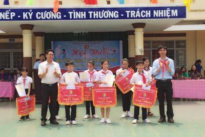 Tháng 3 yêu thương. Yêu các trò nhiều Trường TH Nguyễn Văn Trỗi! Hội thi nghi lễ nghi thức Huyện Krông pắc đã thành công tốt đẹp
